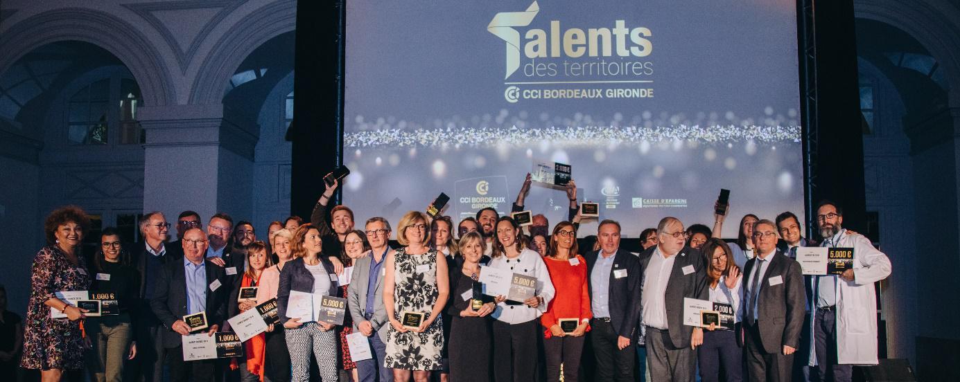 Trajectoire, lauréat du Trophée Talents des Territoires avec la Clinique de l'Entreprise